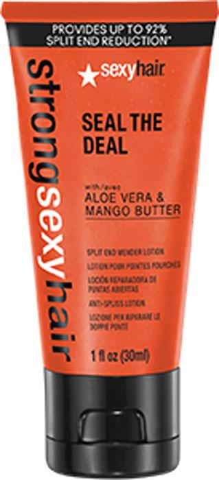 Sexy Hair Бальзам для запаивания секущихся кончиков, 30 мл43SD01Благодаря уникальной технологии с микроскопическими капсулами, легкий крем смягчает кончики, сокращает ломкость волос с первого применения на 92%. Подходит для всех типов волос.