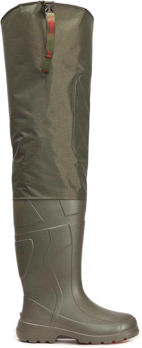 Сапоги забродные для рыбалки Torvi Лиман, с вкладышем, цвет: оливковый. CBMP03T. Размер 47/48