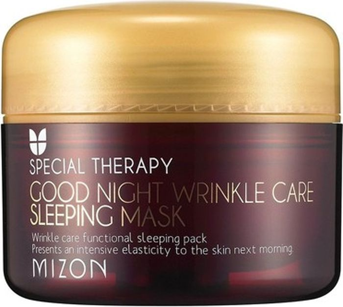 Mizon Ночная маска против морщин Good Night Wrinkle Care Sleeping Mask, 75 мл ночная маска с ретинолом и аденозином mizon good night wrinkle care sleeping mask