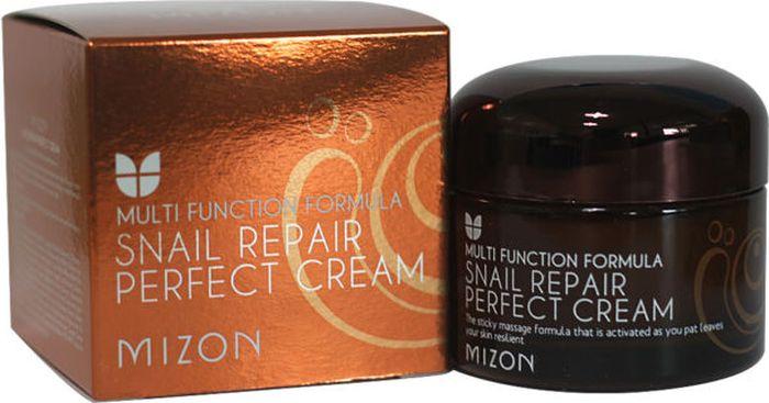 Mizon Питательный улиточный крем Snail Repair Perfect Cream, 50 мл крем mizon nonstop waterful cream объем 50 мл