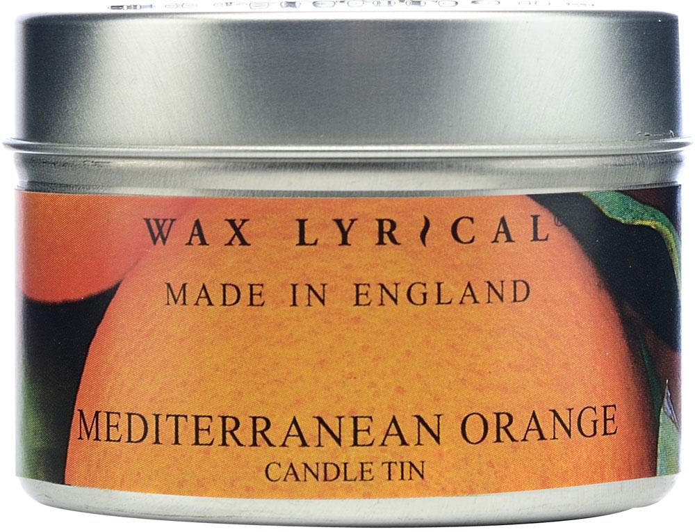 Свеча ароматическая Wax Lyrical Солнечный апельсин. Сделано в Англии, 4,8 x 4,8 x 6,4 смWLE0205Свеча ароматическая Wax Lyrical Солнечный апельсин. Сделано в Англии в алюминиевой банке.Свежий, пикантный, искрящийся цитрусовый аромат, переносящий в апельсиновую рощу на средиземноморском побережье.Как пользоваться свечами? Перед каждым зажжением свечи подрезайте фитиль, его оптимальная высота 5-6 мм; при первом зажигании, дайте поверхности свечи полностью расплавиться; ставьте зажженную свечу на ровную поверхность.