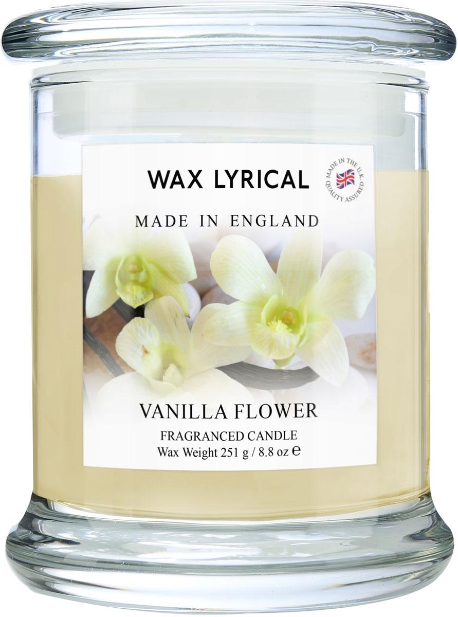 Свеча ароматическая Wax Lyrical Сливочная ваниль. Сделано в Англии, 8 x 8 x 12,5 см свеча ароматическая wax lyrical солнечный апельсин сделано в англии 8 x 8 x 12 5 см