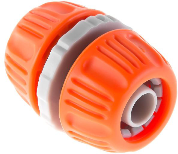 """Муфта Hammer Flex 236-011 изготовлена из высококачественного ударопрочного пластика, устойчивого к воздействию влаги и высокому давлению. Используется в целях быстрого и надежного соединения или удлинения двух шлангов диаметром 1/2"""""""