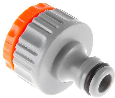 Штуцер Hammer Flex 236-013 пластиковый с внутренней резьбой. Является составной частью быстросъемной соединительной системы полива. Выполняет функцию переходного элемента между соединителем и водопроводной трубой или краном с внешней резьбой диаметром 3/4 или 1 дюйм. Легко устанавливается без использования специального инструмента. Адаптер изготовлен из легкого ударопрочного пластика.