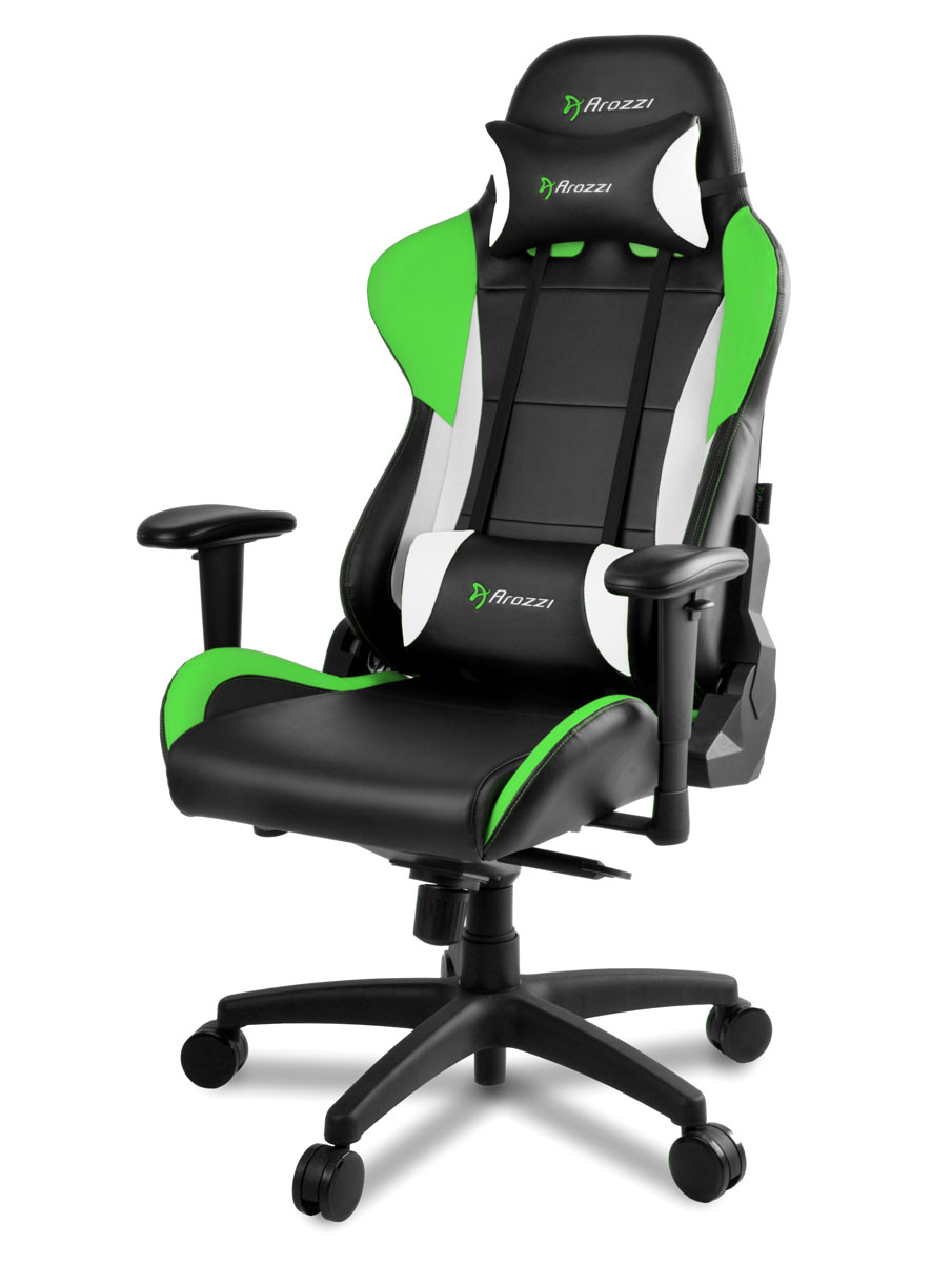 Arozzi Verona Pro V2, Green игровое кресло