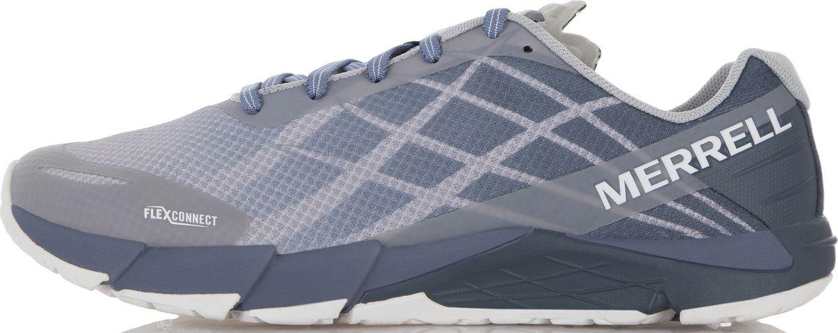 Кроссовки для бега женские Merrell Bare Access Flex, цвет: серый. 12616. Размер 9 (40,5)