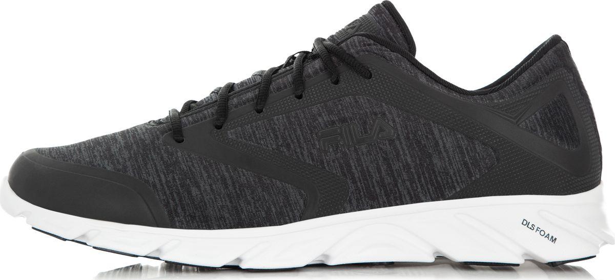 Кроссовки мужские Fila Megalite 2.0, цвет: черный. S18FFLRN007-99. Размер 11 (44)S18FFLRN007-99Удобные кроссовки Fila Megalite 2.0 прекрасно подойдут для активного отдыха и на каждый день. Верх модели выполнен из текстиля. Шнуровка надежно фиксирует обувь на ноге. Внутренняя поверхность и стелька исполнены из текстильного материала. Мягкая подошва с рельефным рисунком обеспечивает отличное сцепление с любыми поверхностями.Такие кроссовки займут достойное место среди коллекции вашей обуви.
