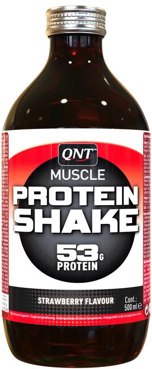 """Протеин QNT """"Shake"""", клубника, 500 мл"""