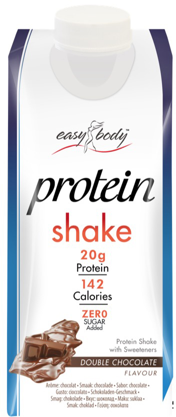 QNT Протеиновый коктейль Easy Body, вкус шоколада, 330 мл протеин qnt белковая смесь easy body protein банан клубника 350 г