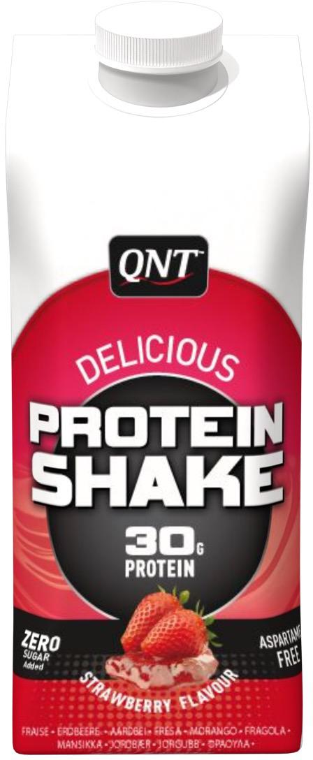 Коктейль QNT Сыворотка протеина, клубника, 330 млQNT1073Каждая бутылка этого напитка содержит 32г изолята гидролизата протеина. Не содержит ни грамма жира или сахара. Metapure Drink рекомендован для поддержания мышечной массы и тонуса. Выпивая сразу после тренировки, он доставляет нужную дозу аминокислот прямо в мышцы, для предотвращения действия кортизола. Состав: раствор молочной сыворотки, вода, белки 10% (концентраты молочного и сывороточного протеинов), ароматизатор, ванилин, загуститель E407, стабилизатор E452, заменители сахара (E952, E950, E954), пищевой краситель E101Как повысить эффективность тренировок с помощью спортивного питания? Статья OZON Гид