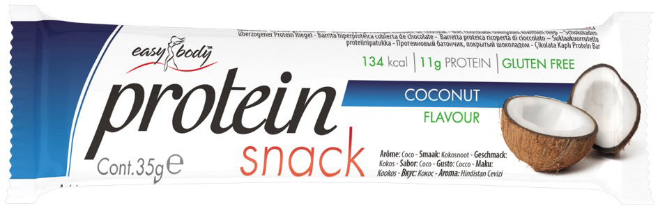 QNT Батончик Easy Body Bar, кокос, 35 г протеин qnt белковая смесь easy body protein банан клубника 350 г