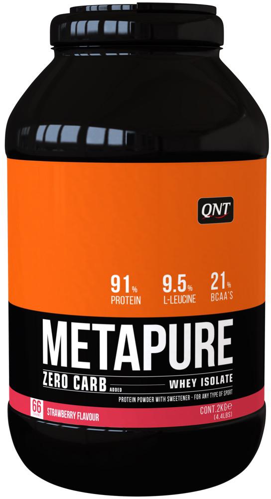 цена на QNT Изолят Metapure, клубника, 2 кг