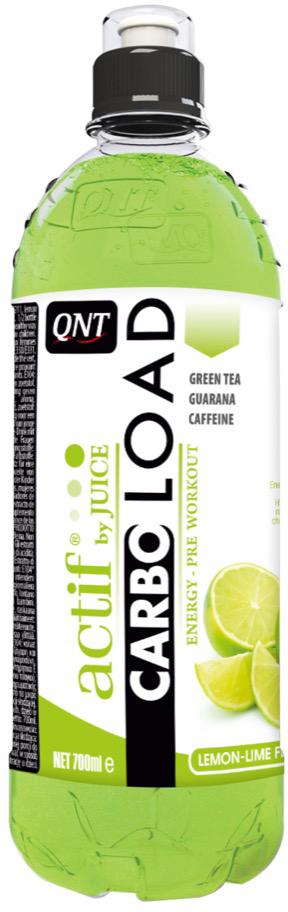 Энергеический напиток QNT Карбо Лоад, лимон/лайм, 700 мл протеин qnt протеин metapure zero carb вкус тирамису 2 кг