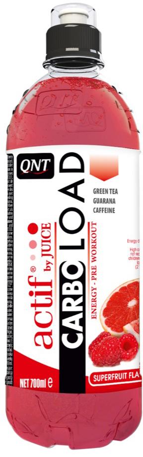 """Энергетический напиток QNT """"Carbo Load"""", вкус: Суперфрукты, 700 мл"""