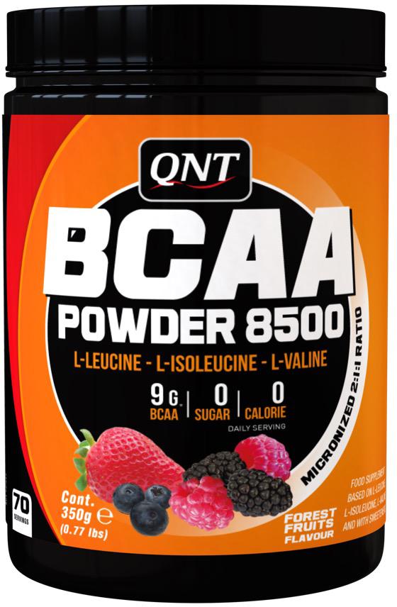 QNT BCAA 8500, Лесные ягоды, 350 г