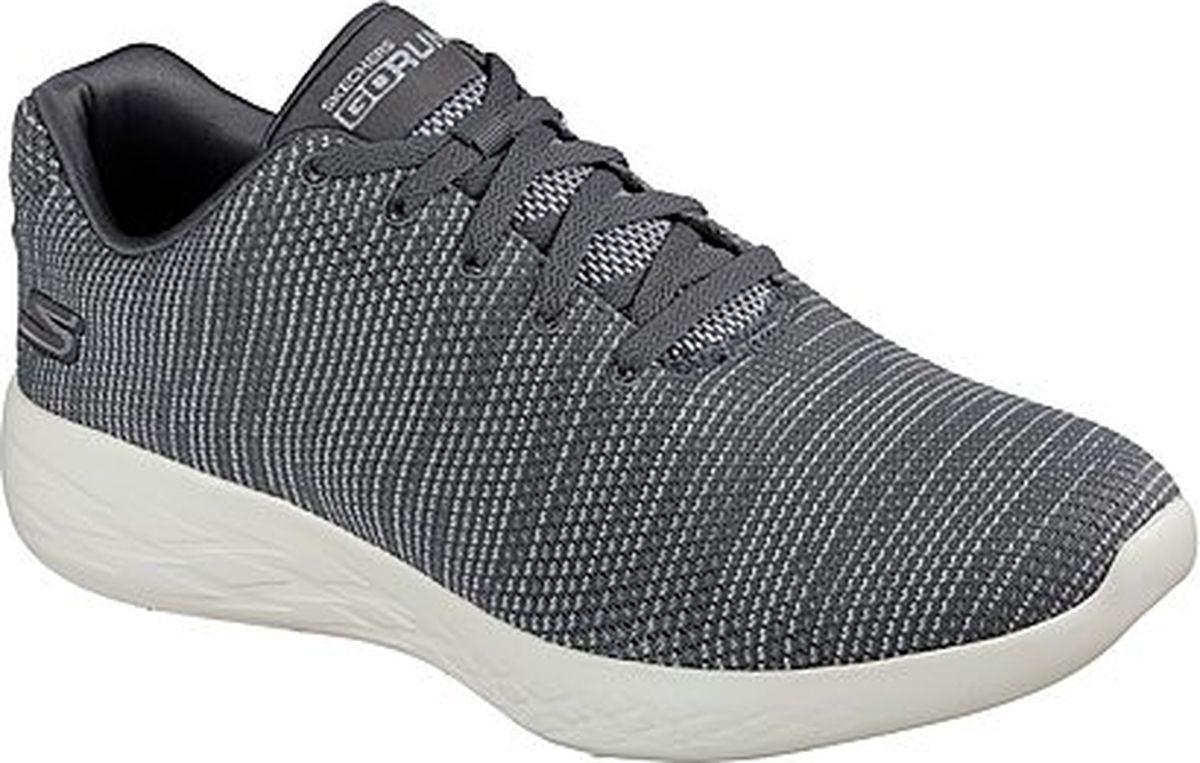 Кроссовки мужские Skechers Go Run 600 Obtain, цвет: серый. 55066-CHAR. Размер 9, (43)