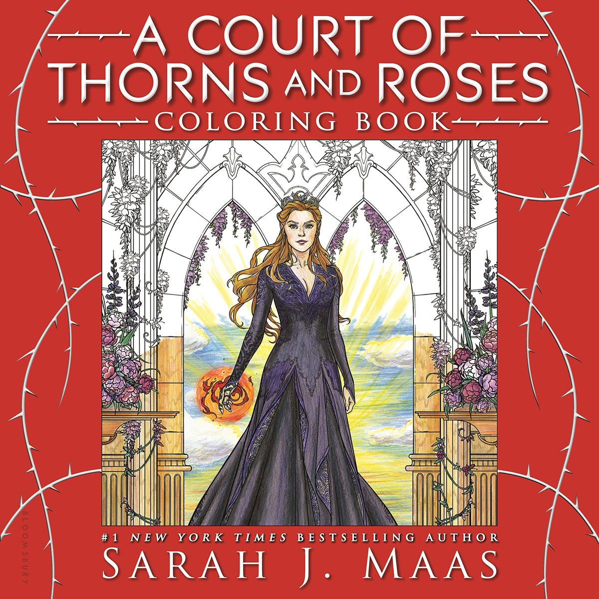 A Court of Thorns and Roses Coloring Book miguel delatorre a a lily among the thorns imagining a new christian sexuality