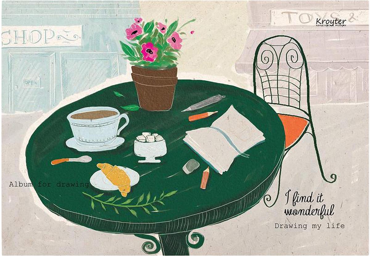 Альбом для рисования Kroyter, 50 листов07491/693933Альбом для рисования формата А4 состоит из 50 листов. Внутренний блок - белая, высокого качества бумага плотностью 100 г/кв.м. Мелованная обложка. Тип скрепления - склейка. Произведено в России.