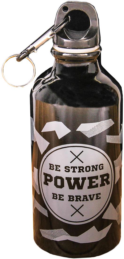 Бутылка для воды Командор Power, 400 мл2588894Это стильный аксессуар для тренировок или прогулок. Благодаря небольшому размеру ее можно носить в рюкзаке, сумке, закрепить на поясе или велосипедной раме, чтобы она всегда была под рукой.Изделие поможет поддерживать здоровье и хорошее самочувствие, а забавная надпись - отличное настроение