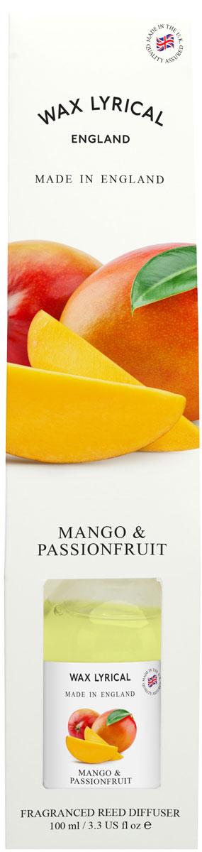 Ароматический диффузор Wax Lyrical Манго и маракуйя. Сделано в Англии, 100 млWLE0548Чарующий аромат экзотических фруктов, безукоризненно подчеркнет благоухание атмосферы в доме.Откройте упаковку, достаньте содержимое.Откройте бутылочку, освободите палочки от скотча и вставьте в бутылочку.Интенсивность аромата можно регулировать количеством вставленных палочек.Также для достижения более насыщенного аромата, время от времени переворачивайте палочки и заново вставляйте в бутылочку.Срок службы ароматического диффузора зависит от условий использования.Активная вентиляция, сквозняки сокращают его срок службы.При обычны x условия x использования ароматический диффузор прослужит вам около 4-6-ти недель.