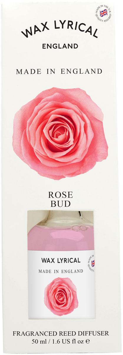 Ароматический мини-диффузор Wax Lyrical Роза. Сделано в Англии, 50 мл ароматический диффузор wax lyrical лаванда сделано в англии 100 мл
