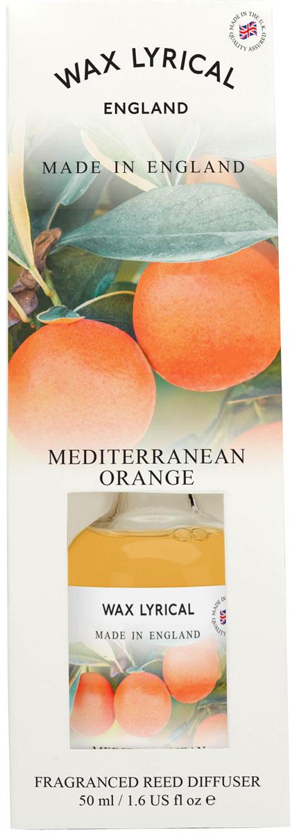Ароматический мини-диффузор Wax Lyrical Солнечный апельсин. Сделано в Англии, 50 млWLE0405Свежий, пикантный, искрящийся цитрусовый аромат, переносящий в апельсиновую рощу на средиземноморском побережье.Откройте упаковку, достаньте содержимое.Откройте бутылочку, освободите палочки от скотча и вставьте в бутылочку.Интенсивность аромата можно регулировать количеством вставленных палочек.Также для достижения более насыщенного аромата, время от времени переворачивайте палочки и заново вставляйте в бутылочку.Срок службы ароматического диффузора зависит от условий использования.Активная вентиляция, сквозняки, сокращают его срок службы.При обычных условиях использования ароматический диффузор прослужит вам около 3-4 недель.