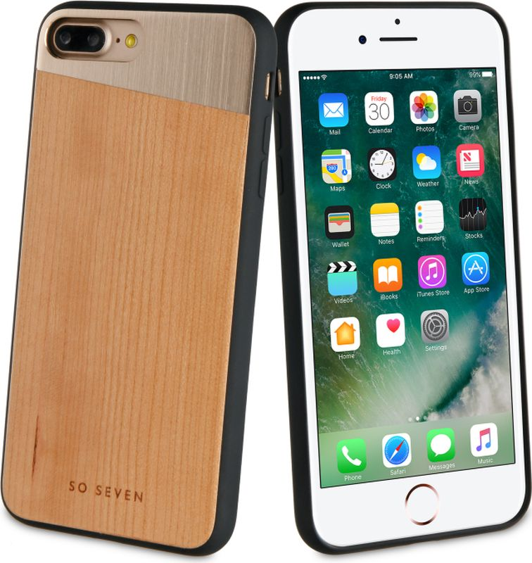 So Seven The Sulfurous чехол для Apple iPhone 7/8 Plus, Wood Pink MetalSVNCSMWPGIP7PЗащитный эффектный чехол-накладка, выполнен из полиуретана, металла и натурального дерева. Обеспечивает эффективную защиту Вашего устройства.Материал полиуретан Металл + натуральное дерево Противоударный