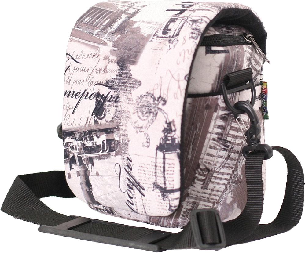 Vivacase Petersburg фотосумка малая, Quartz (165 x 120 x 180)VCF-CCR161218-qrzСумка Vivacase для фото Petersburg малая, размер 165 x 120 x 180 мм, изготовлена из микро велюра, удобна, приятна на ощупь, устойчива к загрязнениям. Надёжно защищает фотоаппарат от механических повреждений благодаря социальной противоударной основе. Внутри сумка выполнена из микрофибры. Состоит из одного отделения, имеет два внутренних кармана для аксессуаров, а также большой внешний карман на липучке. Съемная перегородка позволяет изменять внутреннее отделение исходя из потребностей пользователя. Замок – молния. Сверху сумка оснащена защитной крышкой на липучке. В комплект входит регулируемый наплечный ремень.