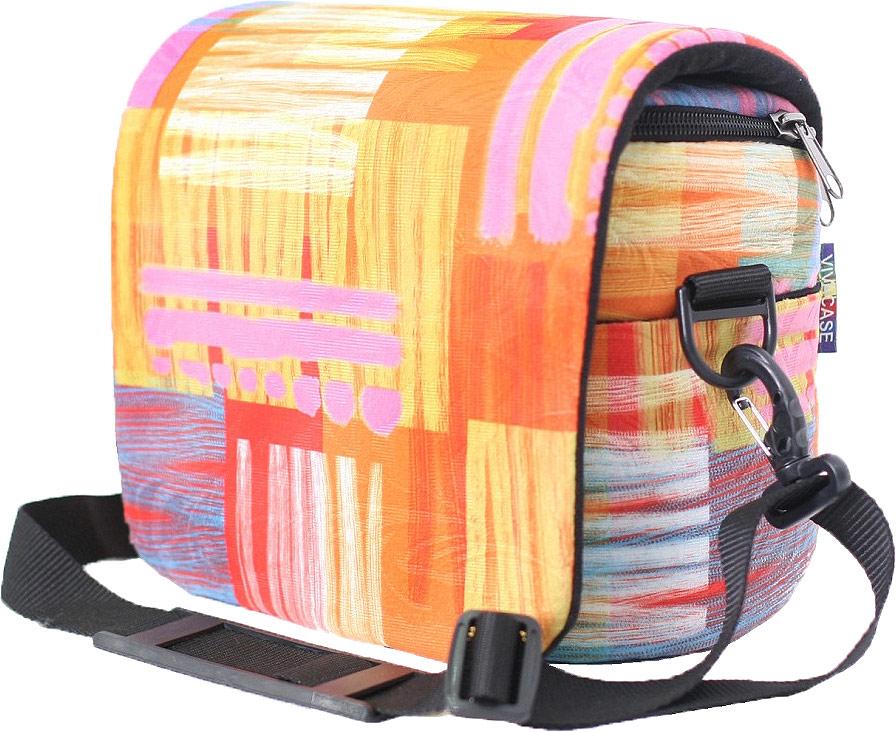 Фото - Vivacase Harlequin фотосумка средняя, Orange (230 x 120 x 180) рюкзак vivacase 15 6 harlequin orange vcn bhc15 or