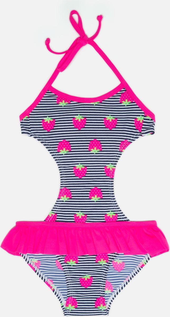 Купальник слитный для девочки infinity KIDS Erica, цвет: разноцветный. 32224720003_8000. Размер 98/104