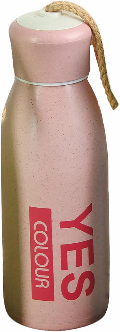 Бутылка Без цвета, цвет: розовый, 300 мл3033186_розовыйОт качества посуды зависит не только вкус еды, но и здоровье человека. Бутылка - товар, соответствующий российским стандартам качества. Любой хозяйке будет приятно держать его в руках. С данной посудой и кухонной утварью приготовление еды и сервировка стола превратятся в настоящий праздник.