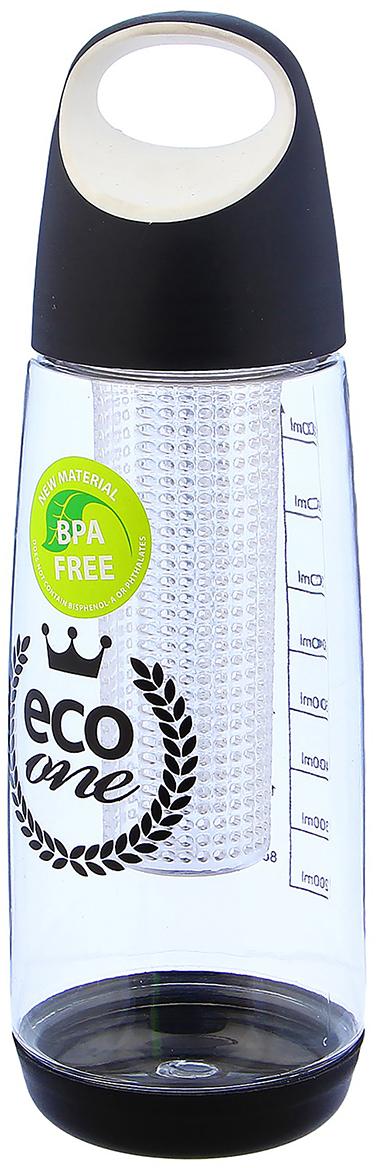 Бутылка Eco One, цвет: черный, 900 мл2997960_черныйОт качества посуды зависит не только вкус еды, но и здоровье человека. Бутылка - товар, соответствующий российским стандартам качества. Любой хозяйке будет приятно держать его в руках. С данной посудой и кухонной утварью приготовление еды и сервировка стола превратятся в настоящий праздник.