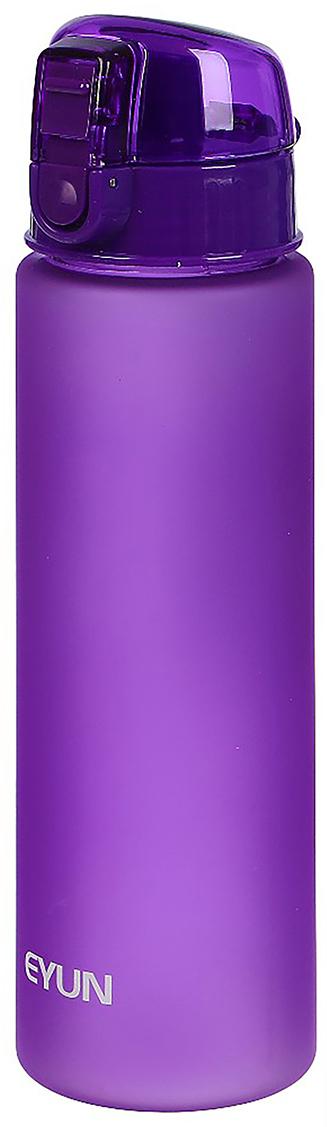 Бутылка спортивная, с ремешком, цвет: фиолетовый, 800 мл2969288_фиолетовыйОт качества посуды зависит не только вкус еды, но и здоровье человека. Бутылка - товар, соответствующий российским стандартам качества. Любой хозяйке будет приятно держать его в руках. С данной посудой и кухонной утварью приготовление еды и сервировка стола превратятся в настоящий праздник.