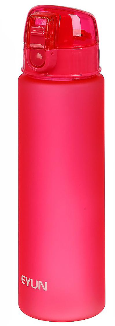 Бутылка спортивная, с ремешком, цвет: розовый, 800 мл2969288_розовыйОт качества посуды зависит не только вкус еды, но и здоровье человека. Бутылка - товар, соответствующий российским стандартам качества. Любой хозяйке будет приятно держать его в руках. С данной посудой и кухонной утварью приготовление еды и сервировка стола превратятся в настоящий праздник.