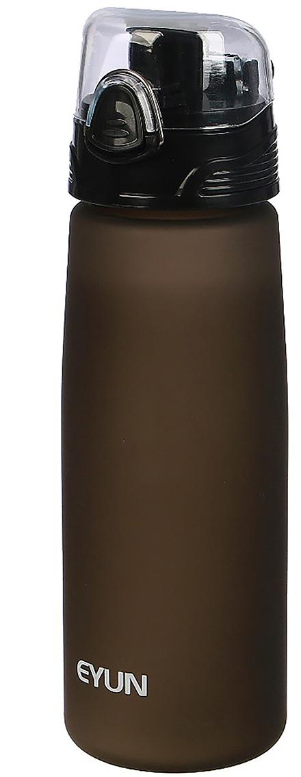 Бутылка спортивная, цвет: коричневый, 850 мл2969283_коричневыйОт качества посуды зависит не только вкус еды, но и здоровье человека. Бутылка - товар, соответствующий российским стандартам качества. Любой хозяйке будет приятно держать его в руках. С данной посудой и кухонной утварью приготовление еды и сервировка стола превратятся в настоящий праздник.