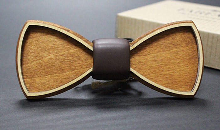 Галстук-бабочка мужской Blackbow, цвет: коричневый. 031.классика. Размер универсальный