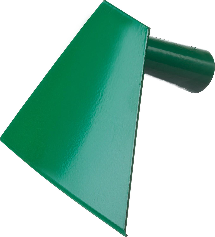 Мотыга радиусная Росток, тулейка 26 мм, 150 х 120 мм99632Мотыга РОСТОК применяется на садово-огородных участках для рыхления почвы и подготовки ее к посадкам растений. С помощью мотыги можно придавать грядкам необходимую форму, сгребать мусор. Выполнена из высококачественной стали.