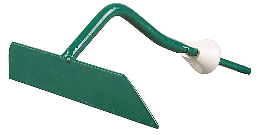 Мотыжка RACO применяется на садово-огородных участках для рыхления почвы и подготовки ее к посадкам растений. С помощью мотыги можно придавать грядкам необходимую форму, сгребать мусор. Высококачественная сталь гарантирует продолжительный срок службы. Быстрозажимной механизм для быстрой и легкой замены ручек. Трапециевидный профиль увеличивает прочность конструкции.