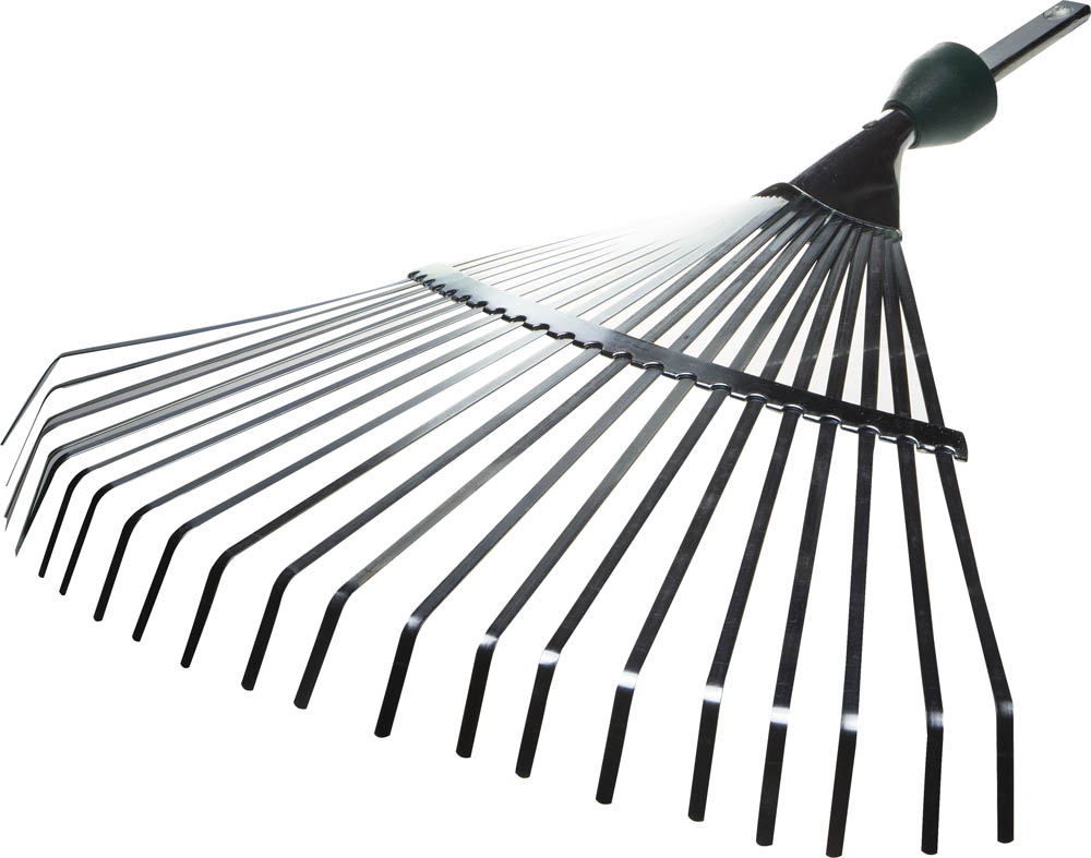 цена на Грабли садовые веерные Raco, 22 зубца, 450 мм