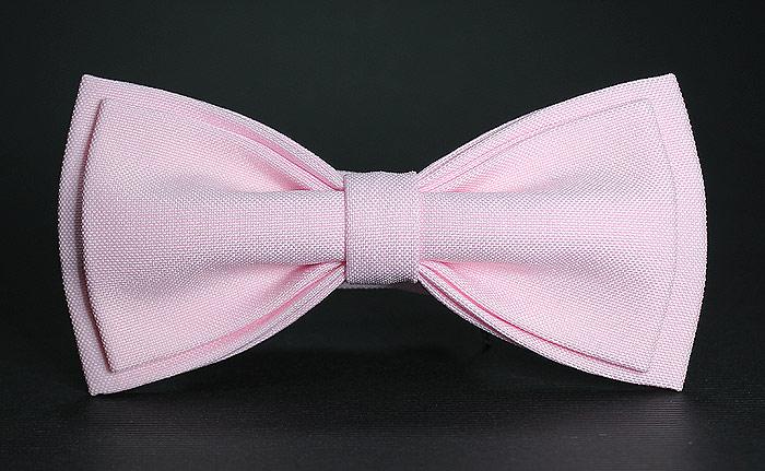 Галстук-бабочка мужской Blackbow, цвет: розовый. S. Размер универсальный