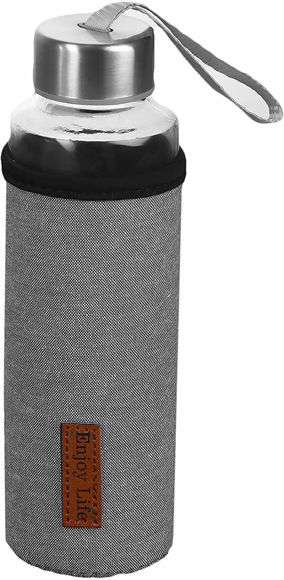 """Бутылка """"Классика"""", цвет: черный, 400 мл"""