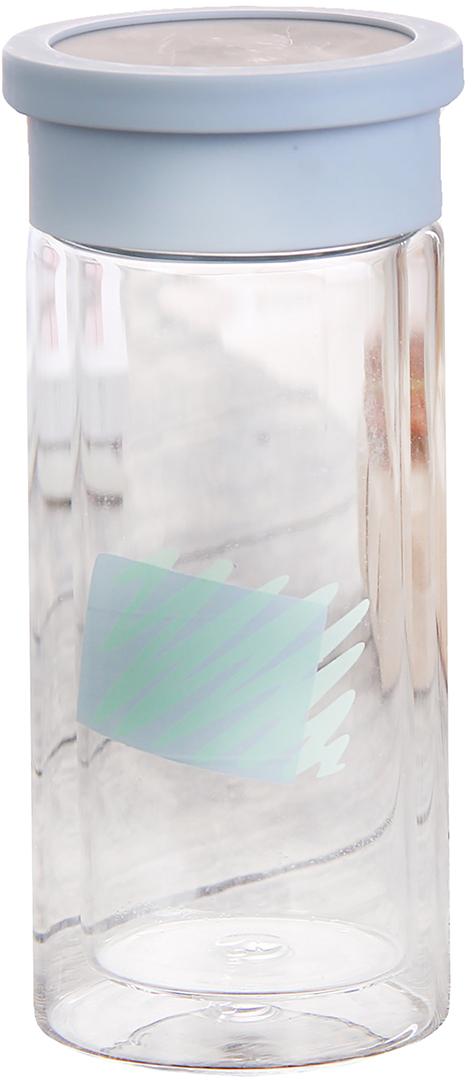 Бутылка Геометрия, цвет: синий, 300 мл2846090_синийОт качества посуды зависит не только вкус еды, но и здоровье человека. Бутылка - товар, соответствующий российским стандартам качества. Любой хозяйке будет приятно держать его в руках. С данной посудой и кухонной утварью приготовление еды и сервировка стола превратятся в настоящий праздник.
