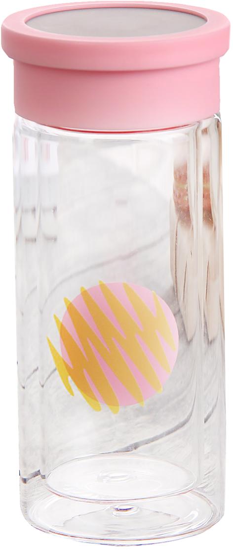 Бутылка Геометрия, цвет: розовый, 300 мл2846090_розовыйОт качества посуды зависит не только вкус еды, но и здоровье человека. Бутылка - товар, соответствующий российским стандартам качества. Любой хозяйке будет приятно держать его в руках. С данной посудой и кухонной утварью приготовление еды и сервировка стола превратятся в настоящий праздник.