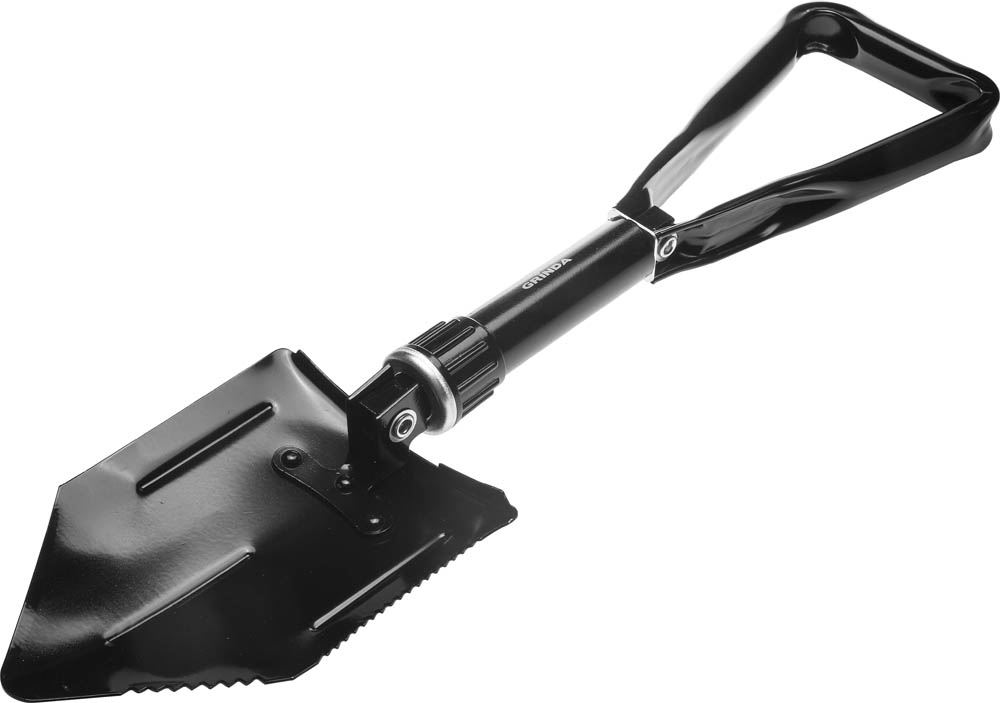 Лопата саперная Grinda, складная