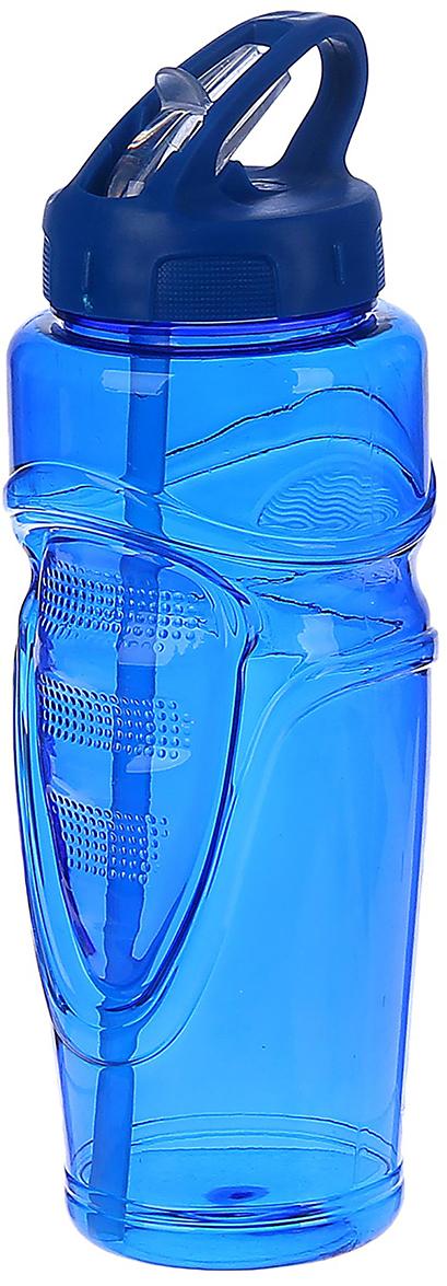 Бутылка спортивная, с поильником, цвет: синий, 650 мл2770372_синийОт качества посуды зависит не только вкус еды, но и здоровье человека. Бутылка - товар, соответствующий российским стандартам качества. Любой хозяйке будет приятно держать его в руках. С данной посудой и кухонной утварью приготовление еды и сервировка стола превратятся в настоящий праздник.