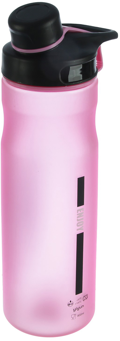 Бутылка Спорт, цвет: розовый, 800 мл2770363_розовыйОт качества посуды зависит не только вкус еды, но и здоровье человека. Бутылка - товар, соответствующий российским стандартам качества. Любой хозяйке будет приятно держать его в руках. С данной посудой и кухонной утварью приготовление еды и сервировка стола превратятся в настоящий праздник.