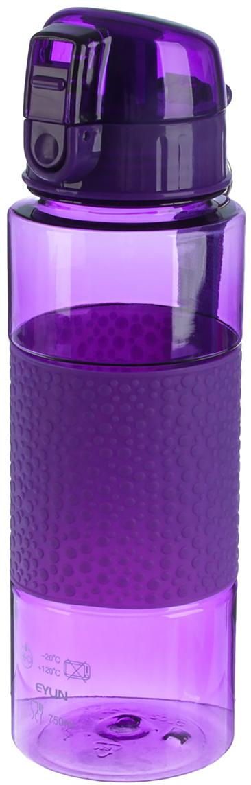 Бутылка Пузырики, с поильником, на браслете, цвет: фиолетовый, 700 мл2770359_фиолетовыйОт качества посуды зависит не только вкус еды, но и здоровье человека. Бутылка - товар, соответствующий российским стандартам качества. Любой хозяйке будет приятно держать его в руках. С данной посудой и кухонной утварью приготовление еды и сервировка стола превратятся в настоящий праздник.