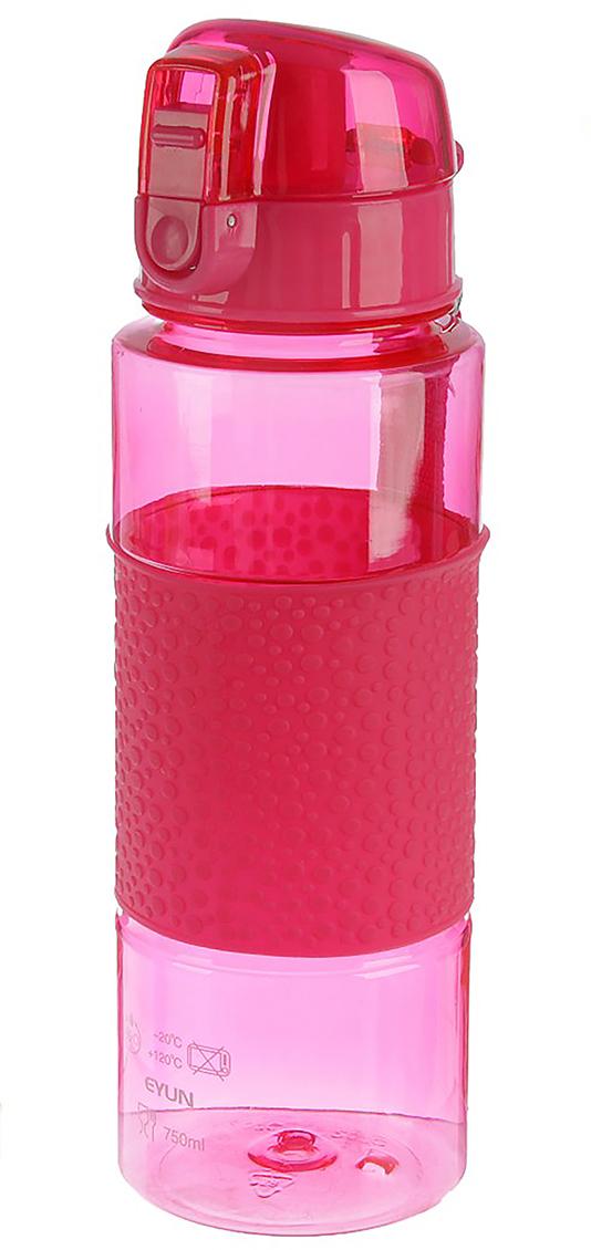Бутылка Пузырики, с поильником, на браслете, цвет: розовый, 700 мл2770359_розовыйОт качества посуды зависит не только вкус еды, но и здоровье человека. Бутылка - товар, соответствующий российским стандартам качества. Любой хозяйке будет приятно держать его в руках. С данной посудой и кухонной утварью приготовление еды и сервировка стола превратятся в настоящий праздник.