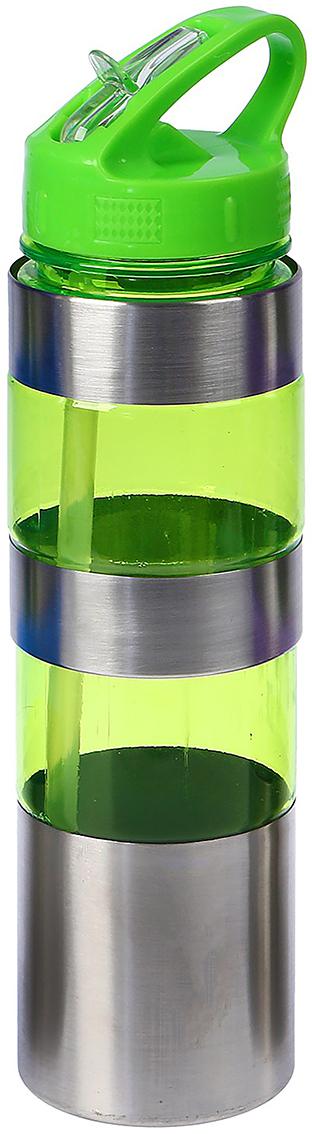 Бутылка, с поильником, со вставками и ручкой, цвет: зеленый, 700 мл2770093_зеленыйОт качества посуды зависит не только вкус еды, но и здоровье человека. Бутылка - товар, соответствующий российским стандартам качества. Любой хозяйке будет приятно держать его в руках. С данной посудой и кухонной утварью приготовление еды и сервировка стола превратятся в настоящий праздник.