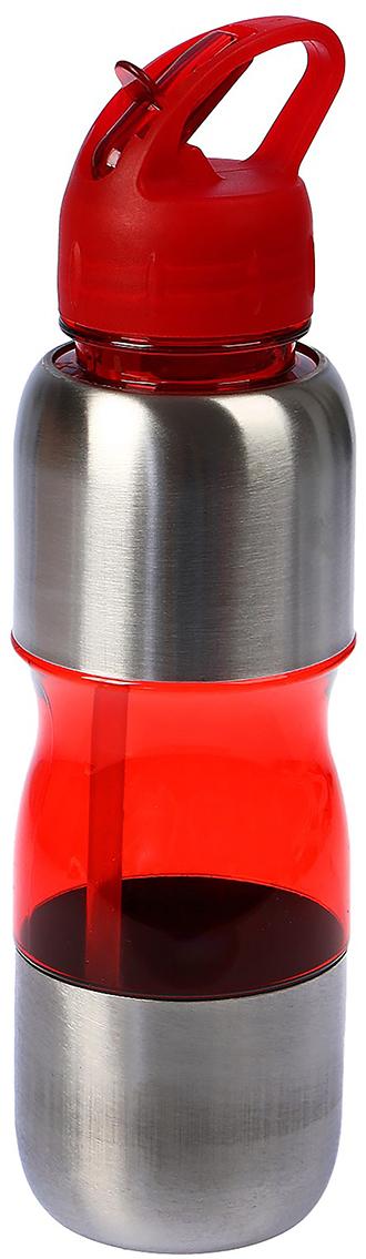 Бутылка, с поильником, со вставками и ручкой, цвет: красный, 750 мл2770090_красныйОт качества посуды зависит не только вкус еды, но и здоровье человека. Бутылка - товар, соответствующий российским стандартам качества. Любой хозяйке будет приятно держать его в руках. С данной посудой и кухонной утварью приготовление еды и сервировка стола превратятся в настоящий праздник.